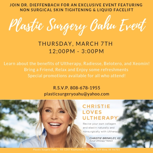 Plastic Surgery Oahu Event